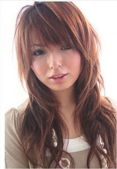 long hairstyles with side fringe. Pictures of Long Hair Styles pictures When