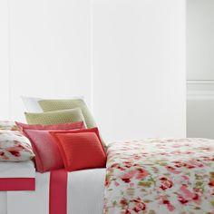 Vera Wang Modern Ikat Duvet Cover. #BeddingStyle #bedroom #floral