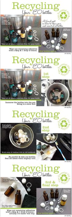 If you love oils as much as I do, you will end up with lots of empties! Clean them and reuse them! Instead of buying roller bottles on Amazon, get the roller caps from Young Living and reuse your old empties. The metal rollers are much better than the plastic ones from Amazon. For more fun oil info check out: https://www.facebook.com/lindseywidmannYLEO