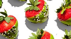 Matcha-Dipped Strawberries Recipe | Bon Appetit