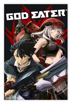 god eater poster,Anime poster,Anime Series,TV Series,Canvas poster