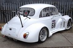Learn more about Power Increase: 283 SBC Powered Morris Minor Race Build on Bring a Trailer, the home of the best vintage and classic cars online. Mini Morris, Morris Minor, Race Engines, Car Covers, Drag Cars, Performance Cars, Small Cars, Classic Cars Online, Car Girls