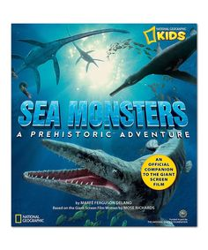 Take a look at this Sea Monsters Paperback Book today!