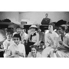Coco Chanel with seamstresses