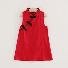 * Sleeveless design * Soft and comfy * Material: 100% Cotton * Machine wash, tumble dry * Imported
