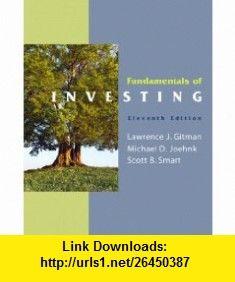 Fundamentals of Investing  MyFinance Student Access Code Card (11th Edition) (9780138023935) Lawrence J. Gitman, Michael D. Joehnk, Scott Smart , ISBN-10: 013802393X  , ISBN-13: 978-0138023935 ,  , tutorials , pdf , ebook , torrent , downloads , rapidshare , filesonic , hotfile , megaupload , fileserve