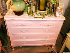 Light Pink Shabby Chic Dresser