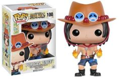 Fire Fist Ace is here! The One Piece Portgas D. Ace Pop! Vinyl Figure features the adopted older brother of Monkey D. Luffy. Standing about 3 3/4 inches tall, this figure is packaged in a window display box. #funko #popvinyl #actionfigure #collectible #OnePiece #PortgasDAce