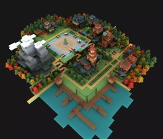 Voxel artist, Zach Soares. Portfolio, games and projects.