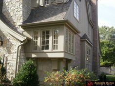 This corner box bay window is wonderful! ----Photo from Battaglia Homes-4 N Bruner Hinsdale, IL