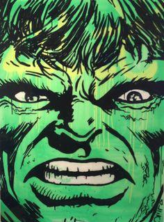 #hulk by #alec monopoly