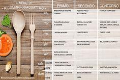 Menu settimanale autunnale. Un menu che si tinge di colori e sapori autunnali. Tanti piati da copiare e mixare per creare i vostri menù settimanali.
