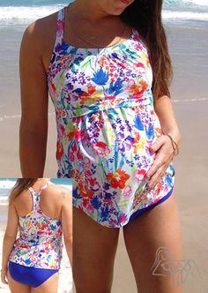 ad8ba5b8c9199 cute maternity swimsuit. like the cut