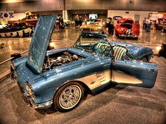 c1 corvette. Very Clean. Original. — at Portland Expo Center.