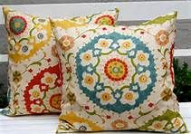 Decorative Pillows Accent Pillows Richloom Cornwall Garden Throw Pillow Cushion Covers 20 x 20 Inches Mediterranean Home Decor, Vintage Pillows, Vintage Fabrics, Contemporary Home Decor, Mosaic Designs, Toss Pillows, Accent Pillows, Pillow Sale, Decorative Throws