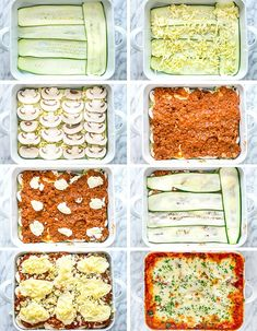 This Zucchini Lasagna is low fat, gluten-free, Keto friendly, ridiculously delicious and only 368 calories! This lasagna uses zucchini in place of pasta thereby reducing calories. Guilt free! #lasagna #zucchinilasagna #lowcarb #keto