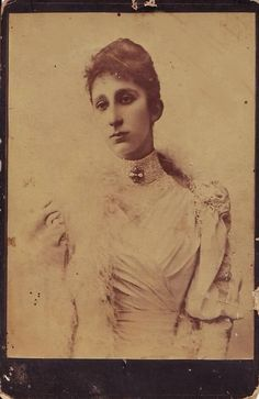 Marie Louise of Bourbon Parma (1870-1899) was the first of two dozen legitimate children of Duke Robert of Parma .  Her mother was Duke Robert's first wife, Maria Pia of Bourbon Two Sicilies.  Marie Louise's dark and angular beauty was not appreciated in her day.  She married royally, Crown Prince Ferdinand I of Bulgaria, with whom she had four children. Marie Louise died following the birth of her fourth child.  Her four children were raised by their stepmother to revere and honor her…