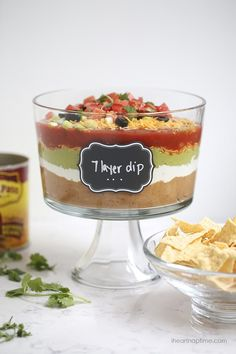 7 layer Mexican dip recipe