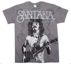 Santana Vintage Peace T-Shirt - Medium