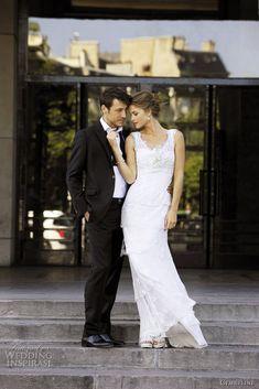love lace wedding dress,like it
