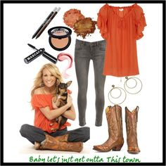 LOVE Carrie Underwood's style