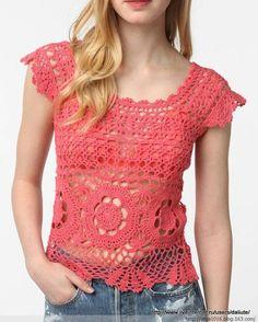 Mis creaciones 25: Mas Blusas para Damas