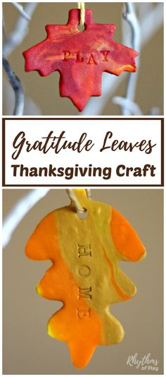 An easy Thanksgiving craft for kids, teens and their parents too! Teach your children about thankfulness by making some gratitude leaves for your thankful tree, wreath, or garland. Teaching children to be grateful for what they have opens the space for abundance to flow into their lives. Make some today!