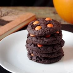 These cookies are not only delicious, but a healthy Halloween treat that is gluten free and vegan!