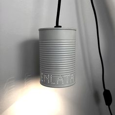 LUZ EN LATA Studio Apartment Design, Lights, Objects