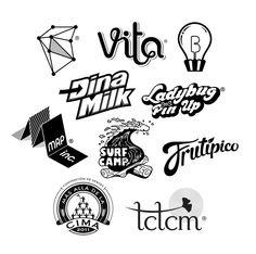 Logos 101 by Lena Vargas Afanasieva, via Behance