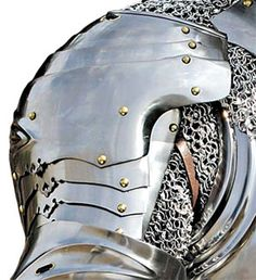 armor tattoo shoulder | It would be a segmented pauldron over chainmail going down to about ...