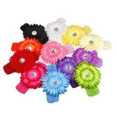 12 Crocheted Daisy Headbands for Little Girls Only $9.29 Shipped! Every Color of the Rainbow! - http://www.yeswecoupon.com/12-crocheted-daisy-headbands-for-little-girls-only-9-29-shipped-every-color-of-the-rainbow/