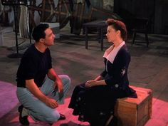 """Judy Garland, and Gene Kelly in """"Summer Stock"""" (1950)."""