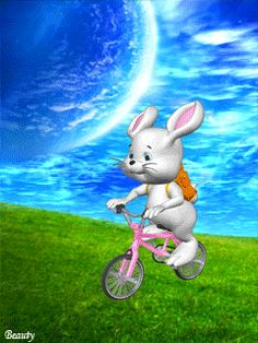 Easter Pictures, Gif Pictures, Cute Pictures, Gifs, Bugs Bunny, Foto Gif, Cute Cartoon Characters, Animation, All Holidays