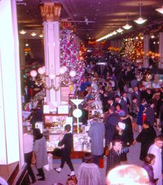 Pleasant Family Shopping: Christmas at Macy's Herald Square, 1962