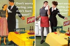 Sexist ads w/gender reversal #5