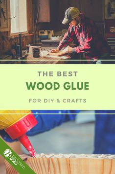 "If you want raw wood-to-wood joining, then regular wood glue is better than super glue or any other glue types. Wood glue is made with polyvinyl acetate (PVA wood glue, for short). You will often come across the term ""carpenter's glue"", which means that it can penetrate wood fibers to make the joints stronger than the wood itself.  If you want the best wood glue, use our guide. Wood Joining, Resin Glue, Wood Repair, Woodworking Projects, Diy Projects, Clear Glue, Small Bottles, Super Glue"