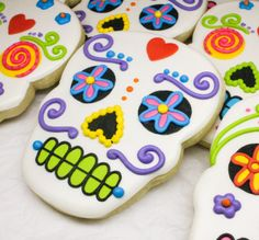 DAY OF THE DEAD BIRTHDAY COOKIES - Google Search