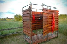 Showering outdoors is something that many of us dream of, and now you can bring this luxury right to your backyard with the Pre-Fab Oborain ...
