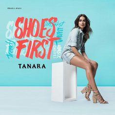 Não é fácil resistir aos sapatos da nova coleção @tanarabrasil  #thailaayala #thailaparatanara #shoesfirst #tanaralovers  @thailaayala