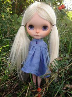Original Takara Neo Blythe Custom Doll Tamaratakara with Mohair Reroot Top | eBay