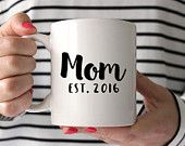 Mom First Mothers Day Gift Coffee New Mom Gift Personalized Mom Mothers Day Mug Mothers Day from Husband Mothers Day Mug Gift for Mom Mug