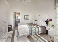 Fresh look to the original master bed room