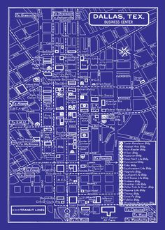 1949 vintage map of downtown washington dc 11x17 blueprint map print 1949 vintage map of downtown dallas malvernweather Image collections
