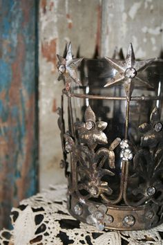 Beautiful Vintage Inspired Santos Crown by AVintageSeason on Etsy, $36.00