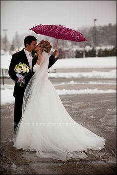 If we have snow at our wedding! :)