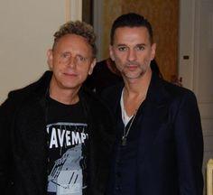 Dave Gahan & Martin Gore of Depeche Mode.  Gahore forever