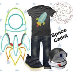 Space Adventurer, created by krystalbay on Polyvore