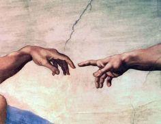 Adam-touching-the-hand-of-God-Sistine-Chapel