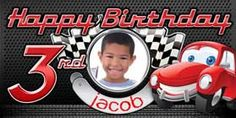 Cars Birthday Banner that can be customized! You deserve the best! Pixar Cars Birthday, Race Car Birthday, Race Car Party, Cars Birthday Parties, Birthday Ideas, Personalized Happy Birthday Banner, Personalized Birthday Banners, Birthday Letters, Happy Birthday Banners